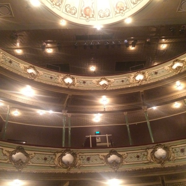 Bright lights at the Theatre Royal