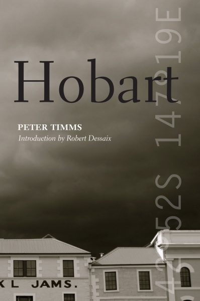 Book cover of Hobart by Peter Timms